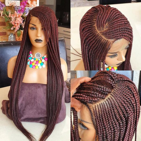 Lola C Curve Cornrow braided wig