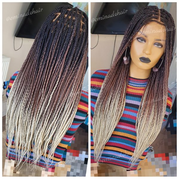 Ava Small knotless Braids (as pictured), colour c15