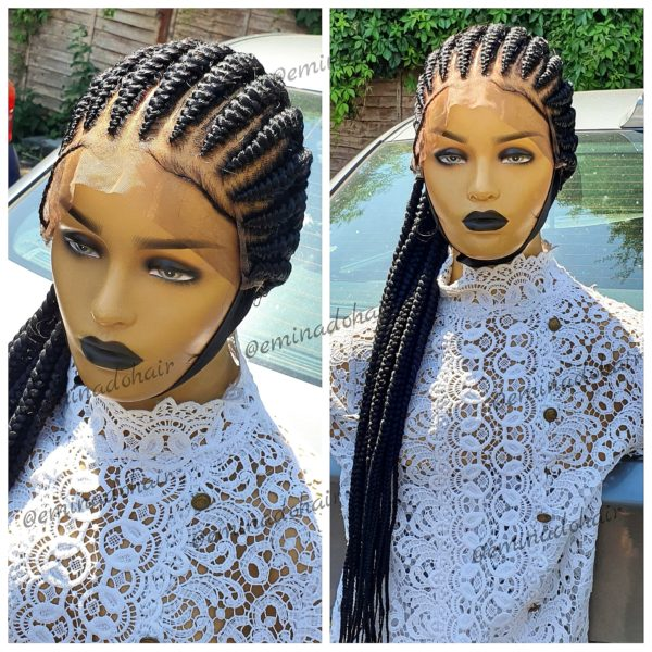 To the Back, Cornrow Wig
