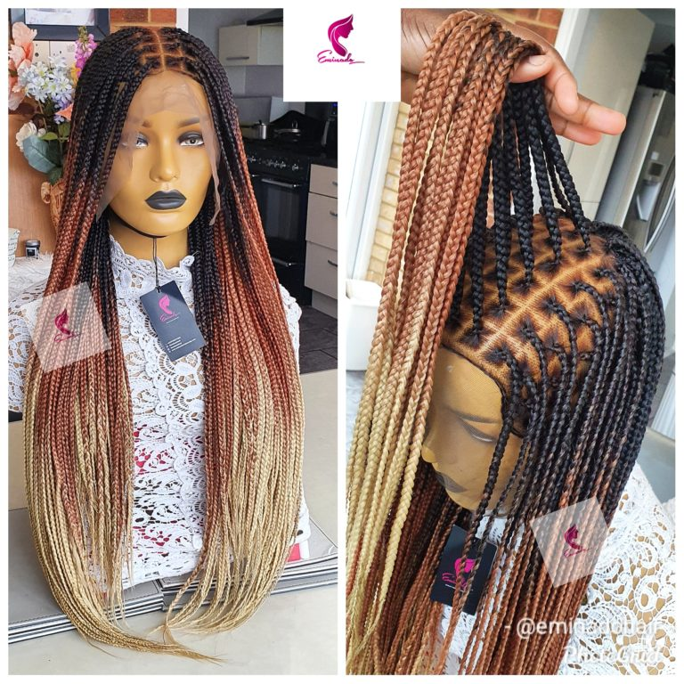 Ava Small knotless Braids (as pictured), ombres