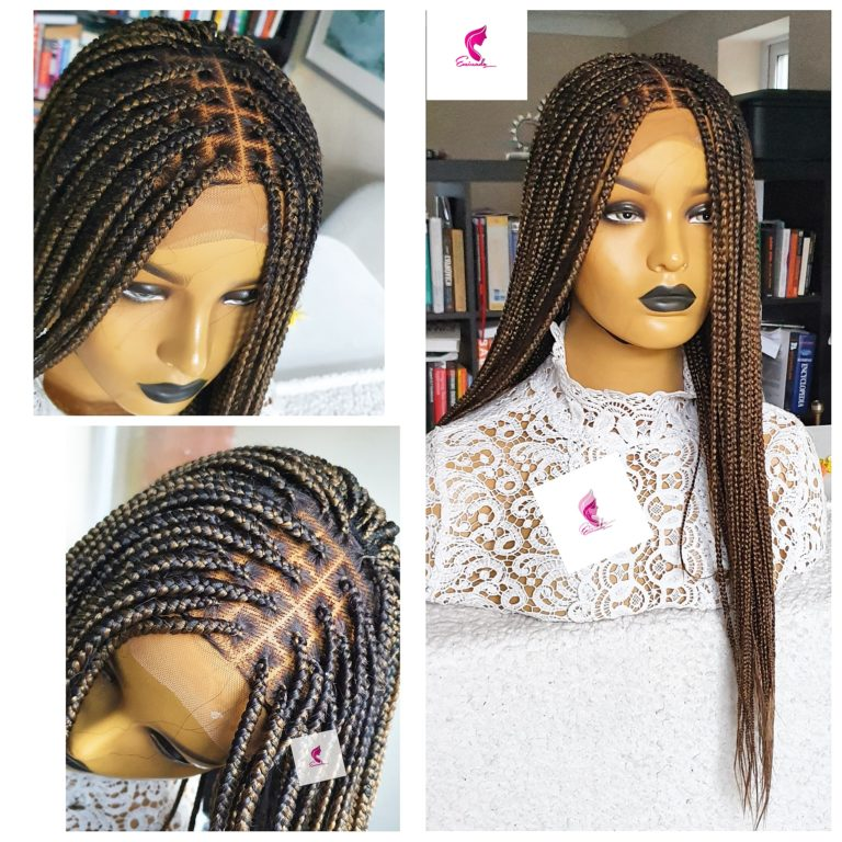 Knotless braids, 14inches lenght, closure